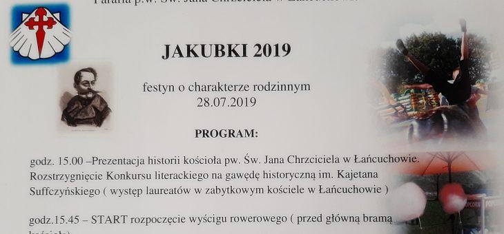 JAKUBKI 2019